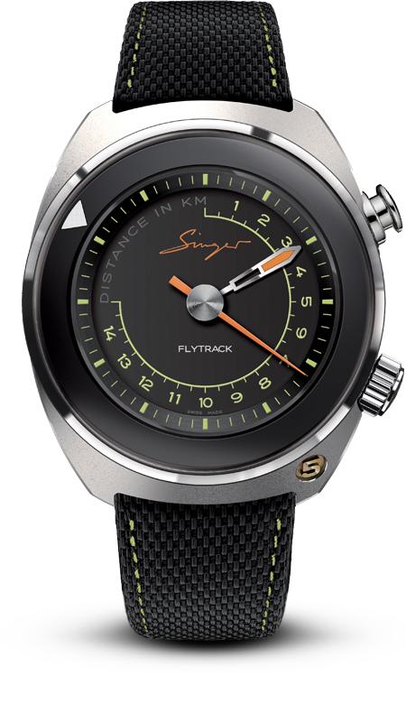 singer flytrack prime edition telemeter